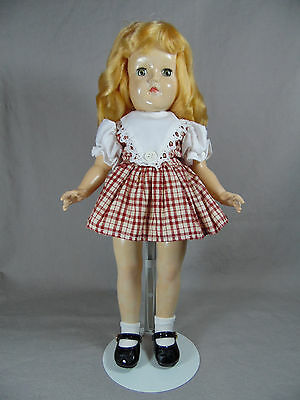 IDEAL P-90 TONI DOLL 14in STRAWBERRY BLONDE IN NEED OF TLC