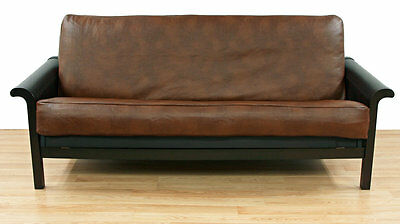 Faux Leather Futon Slipcover Easy Fit FREE SHIPPING (BRAND NEW)