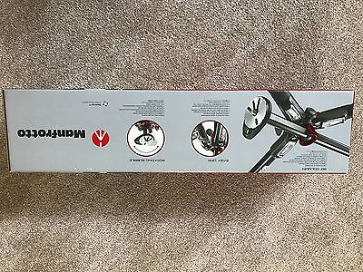 Manfrotto MT190XPRO4 4-section tripod, with horizontal column