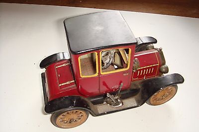 Schuco Tinplate Model No.1227, Clockwork Ford T Coupe of 1917