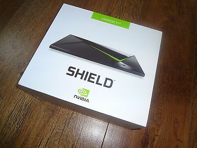 NVIDIA Shield 16 GB Android TV Digital HD Media Box Streamer & Controller P2571