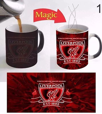 Premier Team Liverpool FC Football Club Logo Color Change Coffee Mug Magic Gift
