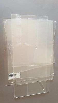Clear Acrylic sheet 1.5mm 2mm ASSORTED BUNDLE 1.5kg Perspex sheet