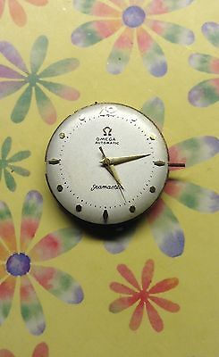 Omega 351 complete Automatic movement with dial for parts or repair