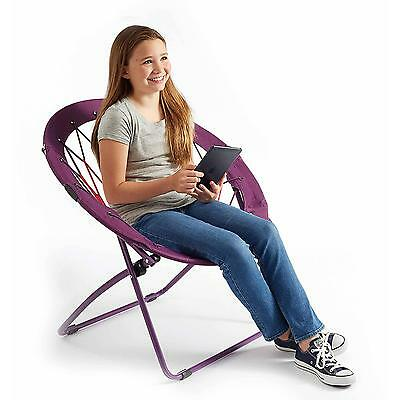 "32"" Bunjo Bungee Chair Blue Camo Pink Zebra Purple Red Black Grey Seat Lounger"