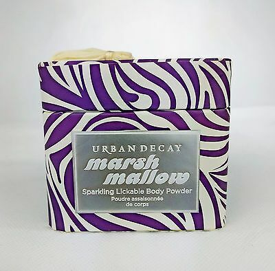 URBAN DECAY Marsh Mallow Sparkling Lickable Body Powder ~ 22g  ~ Fast Post