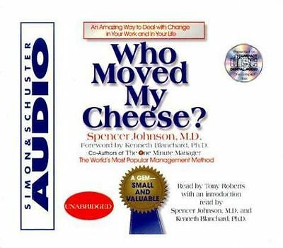 SPENCER JOHNSON - Who Moved My Cheese (audiobook)