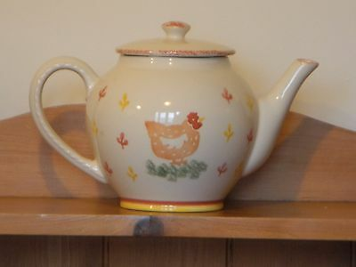 Laura Ashley 'Hens' Large Teapot