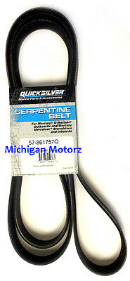 Genuine MerCruiser Serpentine Belt - Outboards & Sterndrives, 57-861757Q