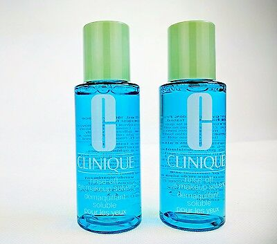 CLINIQUE rinse-ff eye makeup solvent/remover ~ 120ml ~ Brand New ~ Fast Delivery