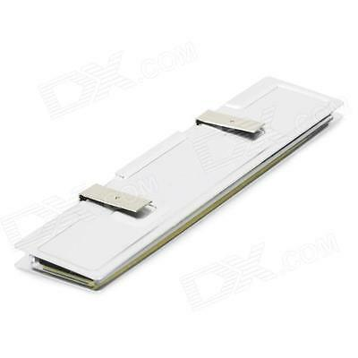 Aluminum Alloy RAM Computer PC Memory DDR Heat Spreader Cooler - Silver