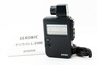 SEKONIC DIGI LITE L-318B Exposure Meter w/strap [Exc++] from Japan [895]