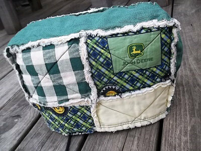Toaster Cover John Deer Primitive Rag Country Fabric Quilted 2 Slice