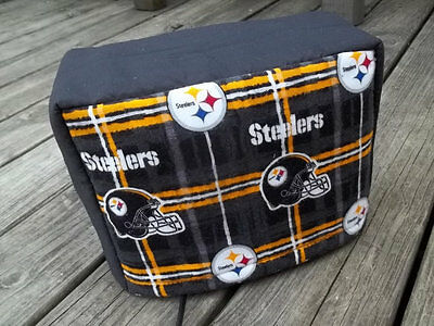 Toaster Cover Pittsburgh Steelers Fabric Quilted Sewn 4 Slice
