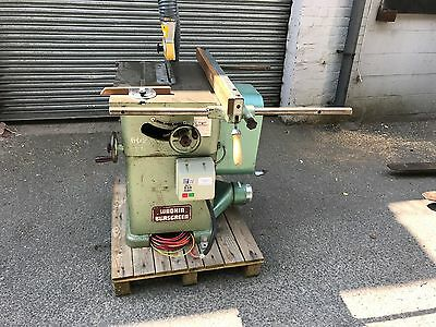 Wadkin Bursgreen 10 AGS Table Saw Bench 3 phase