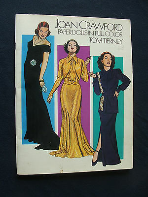 Joan Crawford   Paper Dolls      Tom Tierney