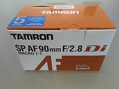 Tamron SP AF 90mm f/2.8 Di MACRO 1:1 (for CANON DSLR) - A BARGAIN!