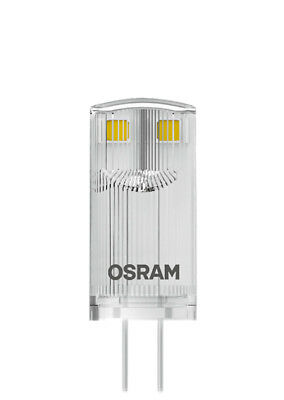 OSRAM LED STAR PIN 20 (360°) klar Warm White 12V G4 Steckbirne 811973