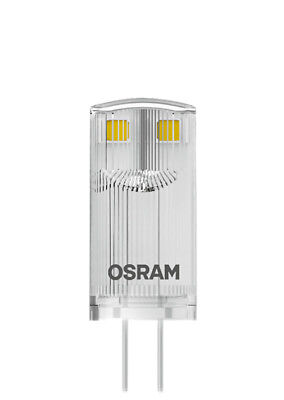 OSRAM LED STAR PIN 10 (360°) klar Warm White 12V G4 Steckbirne 811416