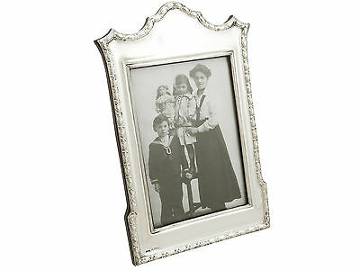 Antique Edwardian Silver Photograph Frame by Cohen & Charles Birmingham 1906