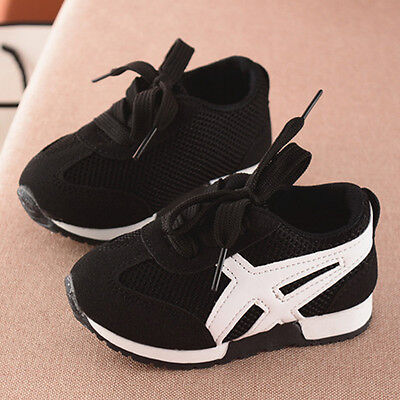 Kids Baby Boys Casual Sports Shoes Girl Trainers Shoe Unisex Running Soft Shoes