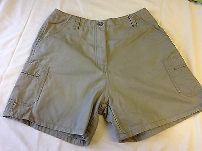 Ladies  Khaki Shorts from New Look size 8
