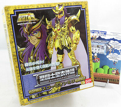 SAINT SEIYA Chevaliers Zodiaque MYTH CLOTH SCORPION MILO Bandai Europe Officiel