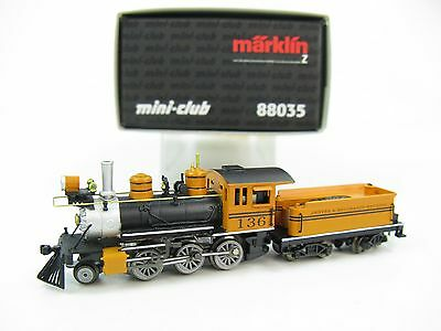 Marklin Mini-Club Z-scale 2-6-0 Bumble Bee Locomotive & Tender, 88035