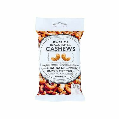 Marks & Spencer Sea Salt & Black Pepper Cashews 150g