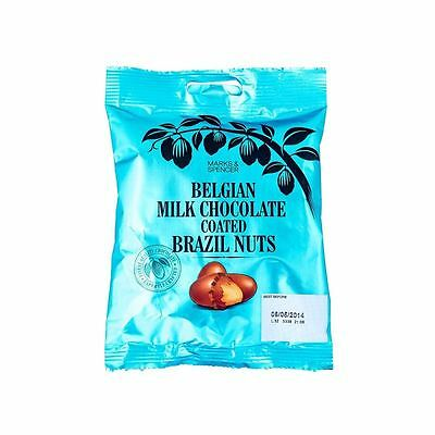 Marks & Spencer Belgian Milk Chocolate Coated Brazil Nuts 95g