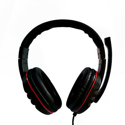 USB Surround Stereo Gaming Headset Headband Headphone with Mic For Computer PS4*