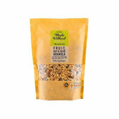 Marks & Spencer Made Without Wheat Fruit, Nut & Seed Granola 500g