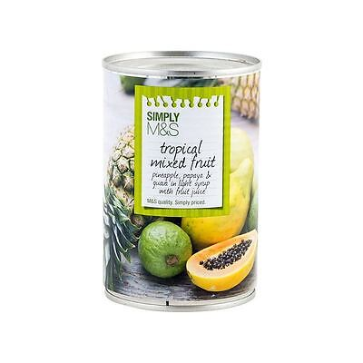 Marks & Spencer Tropical Mixed Fruit 425g