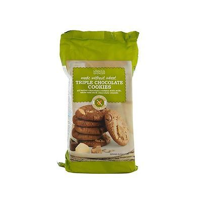 Marks & Spencer Triple Chocolate Cookies Gluten Free 170g