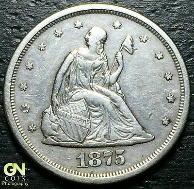 1875 S 20 Cent Piece  --  MAKE US AN OFFER!  #W5131 ZXCV
