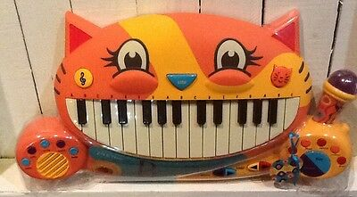 B. Meowsic Cat Piano Keyboard with Microphone Recorder - Unisex NEW
