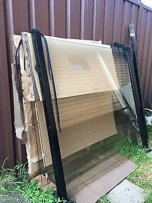 Pool Glass Fence With Frame,no Damages