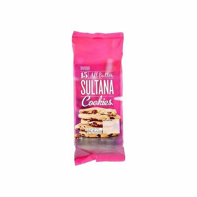 Marks & Spencer 15 All Butter Sultana Cookies 250g