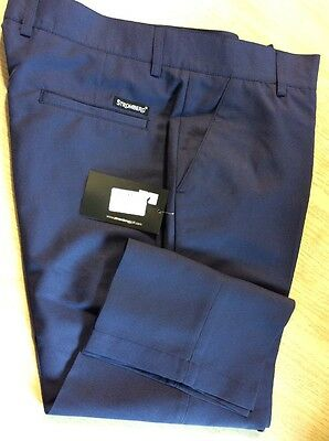 Stromberg Ladies Capri Trousers Navy Blue Size 12