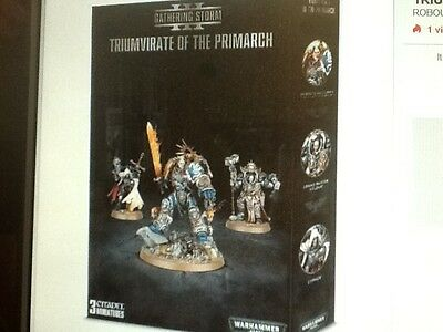 Warhammer 40K Triumvirate of the Primarch Box New Sealed
