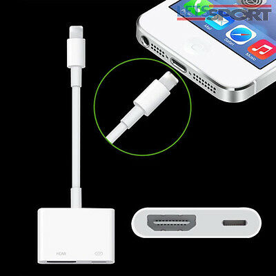 Lightning to Digital AV TV HDMI Cable Adapter For iphone 6 6S 7 7Plus Ipad air
