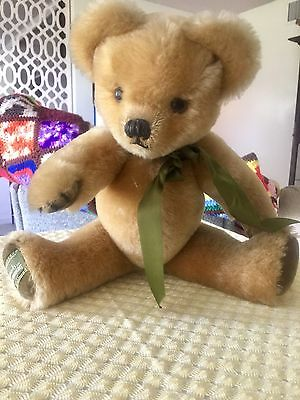 Merrythought Bear Jointed Arms Legs Collectors Edition New With Paw Tag