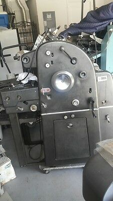 AB Dick 360 CD printing press with T-head