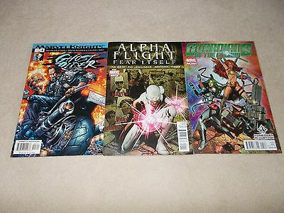 Ghost Rider Vol. 3 (2001-2002) #3 of 6 with Alpha Flight #1 and Guardians #5