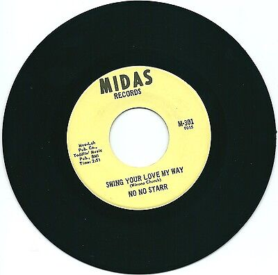 Northern  Soul  -  No  No  Star  -   Swing Your Love My Way  -  Midas  Records