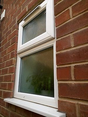 Upvc double glazed window with top openers.and sill