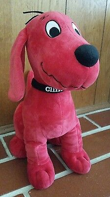 Clifford The Big Red Dog Plush Stuffed Toy By Khols Cares - Euc
