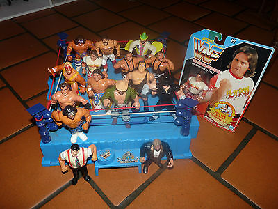 Figurines Catch WWF 16 Figure + Ring