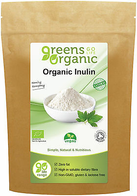 Greens Organic Agave Inulin Powder, 500g - Weight Loss, High in Dietary Fibre