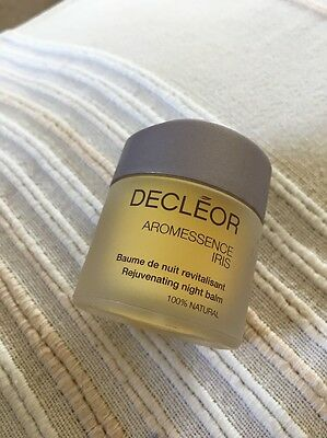 Decleor Aromessence Iris rejuvenating night balm 15ml Brand New From Set Free PP
